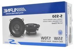 Alpine S-S50 S-Series 5.25-inch Coaxial 2-Way Speakers