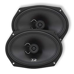 CT Sounds Bio 6x9 Inch 2 Way Silk Dome Coaxial Car Speakers