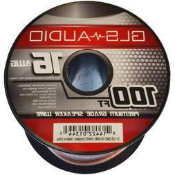 GLS Audio Premium 16 Gauge 100 Feet Speaker Wire - True 16AW