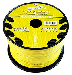 Invisible Dog Fence Wire 14 Gauge 500 FEET YELLOW InGround F