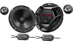 "Jvc - 6-1/2"" 2-way Car Speaker With Carbon Mica Cones  - Bla"