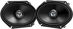 """Jvc - 6"""" X 8"""" 2-way Car Speakers With Carbon Mica Cones  - B"""