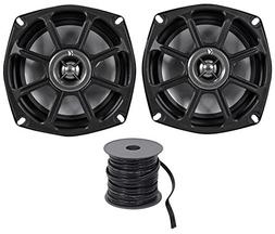 Kicker 10PS52504 5.25 Harley Davidson Motorcycle Speakers+Ma