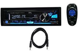 Package: JVC KD-X330BTS Single-Din Digital Media Receiver wi