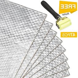 Partsam 50 mil 50 sqft Car Sound Deadening Mat,Self-Adhesive