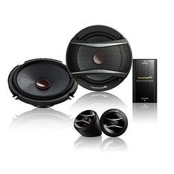 "Pioneer - Ts-a Series 6.5"" 2-way Component Speakers - Black"