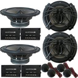 4 x Soundstream AC.6 Arachnid Series 6.5 inch 2-way Car Audi