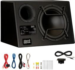 """Acoustic Audio by Goldwood ACA12DWG Deluxe Powered 12"""" Car P"""