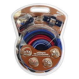 Car Amplifier Wiring Kit, 4 Gauge Copper Audio Wire Installa