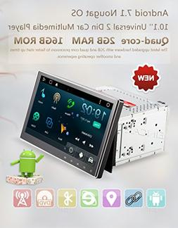 "Eincar 10.1"" 2GB Android 7.1 Car Radio Stereo - Universal Do"