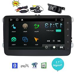 EinCar 8 inch Android 7.1 Plug and Play Radio for VW Volkswa