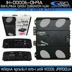 AUDIOPIPE APHD-3000D-H1 Mono Fullrange Amplifier 3000W Rms C