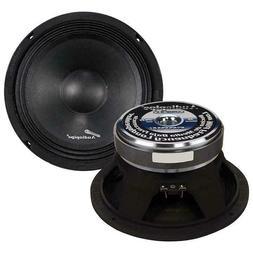 "Audiopipe APMB8 8"" 500 Watt Mid Bass Car Speaker Sold Indivi"