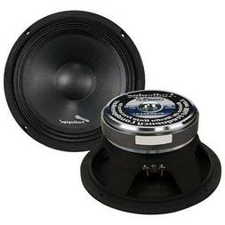 Audiopipe APMB8C Mid Bass Car Audio Speakers 500W