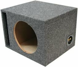 "ASC Single 12"" Subwoofer Universal Fit Vented Port Sub Box S"