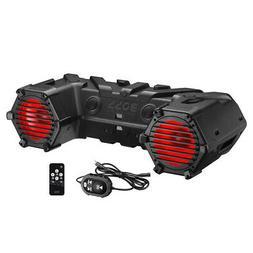 "BOSS ATV95LRGB AUDIO Boss Amplified Bluetooth 8"" Marine Spea"