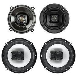 "Polk Audio 5.25"" 300W Car/Marine ATV Speakers, Pair + 6.5"" 3"