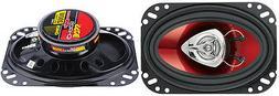BOSS Audio CH4620 Car Speakers - 200 Watts Of Power Per Pair