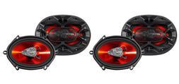"Boss Audio CH5730 600 Watt 5x7"" Car Audio Stereo Coaxial 3-"