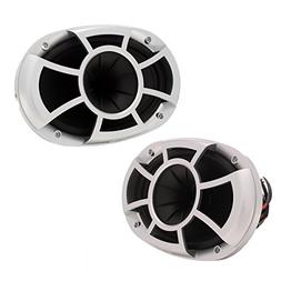 "Wet Sounds REV696-RS 150W RMS, 6 x 9"" Coaxial Pro Series Mar"