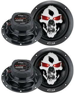 BOSS AUDIO SK653 Phantom Skull 6.5 3-way 350-watt Full Range