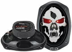 BOSS AUDIO SK693 Phantom Skull 6 x 9 3-way 600-watt Full Ran