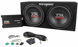 MTX Audio TNP212D2 Terminator Power Pack Subwoofer System -