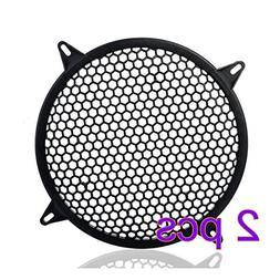 MeiBoAll Auto Speaker Parts 2Pcs Car Audio Sub Woofer Grille