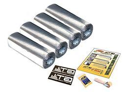 GTMAT Automotive Sound Dampener 80mil Ultra Door Kit - Sound