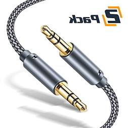 JSAUX AUX Cable,  3.5mm Auxiliary Audio Cable Nylon Braided