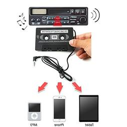 Trolax 3.5mm AUX Car Audio Cassette Tape Adapter Transmitter