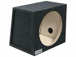 "BBox E12S Single 12"" Sealed Carpeted Subwoofer Enclosure"