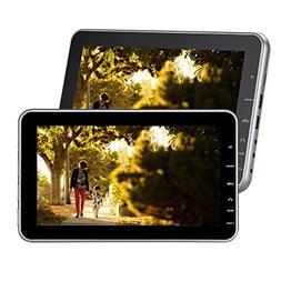 """Eincar Black Twin Car Headrest DVD Players 10.1""""inch HD Scre"""