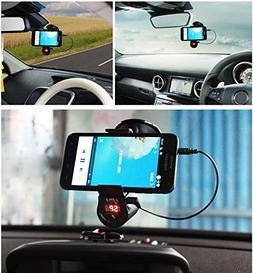 Bluetooth Car Kit FM Transmitter player hands free Multi Fun