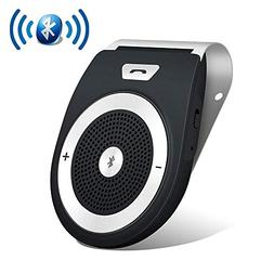 Aigital Bluetooth Car Kit Speakerphone Wireless in-Car Speak