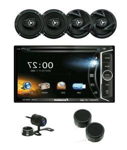 Bluetooth Car Radio Stereo Audio System Backup Camera USB Sp