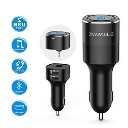 Bluetooth Receiver, Elecwave Bluetooth 4.2 Car Receiver & Wi