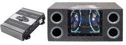 "PYRAMID BNPS102 10"" 1000W Subwoofer Enclosure Subs Box + Pyr"