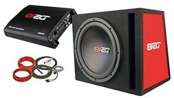 """DS18 BP110 600W Complete Bass Package with 10"""" Sub MDF Enclo"""
