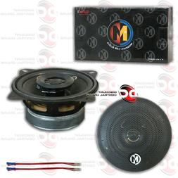 NEW MEMPHIS SRX 4-INCH 2-WAY CAR AUDIO DOOR SPEAKERS PAIR 4""