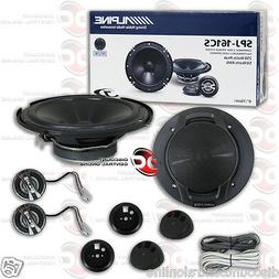 BRAND NEW ALPINE 6-INCH 2-WAY CAR AUDIO COMPONENT SPEAKERS