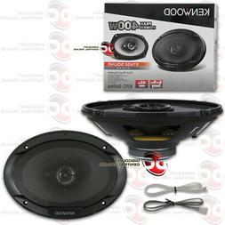 NEW KENWOOD 6x9-INCH 3-WAY CAR AUDIO COAX COAXIAL SPEAKERS