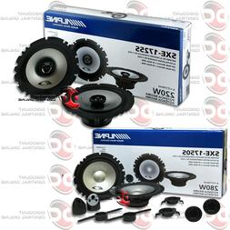 """BRAND NEW ALPINE PACKAGE 6.5"""" 2-WAY CAR COMPONENT SPEAKERS +"""