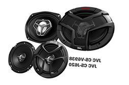 "Package In Bulk Box - JVC CS-V9638 6""x9"" 400W 3 Way Coaxial"