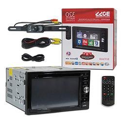 "BOSS Audio BV9366B Car Audio 2DIN 6.2"" Touchscreen DVD CD Pl"