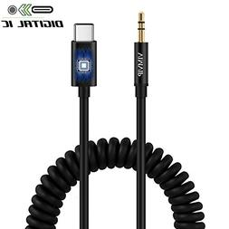Type C to 3.5mm Audio Cable, VIMVIP USB C to 3.5mm Male Car