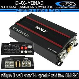 DS18 CANDY-X4B Black 1600 Watts Max Digital 4 Channel Class