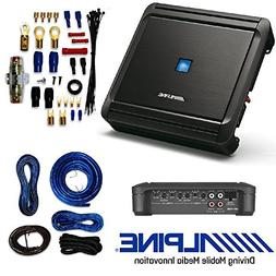 Alpine 4-Channel Car Amplifier, 50 Watts RMS x 4 W/AMP KIT