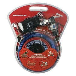 Car Audio Amplifier Wiring Kit, 8 Gauge Line Out Converter W