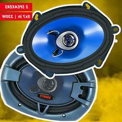 "NEW BLAUPUNKT 5""x 7"" 4-WAY CAR AUDIO COAXIAL SPEAKERS  720W"